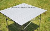 Table en aluminium carrées de plein air
