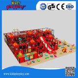 A grande multi função caçoa o campo de jogos interno com o Trampoline para a venda