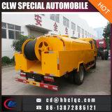 Dongfeng 4000L Dégivrage d'un camion-citerne d'égout Dredge Vehicle
