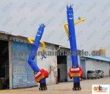 La publicité personnalisée d'homme de ciel de danseur d'air du logo 20FT gonflable pour la mémoire de lavage de véhicule