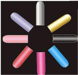Etiqueta engomada colorida de moda del clavo de las etiquetas engomadas del arte del clavo de la transferencia del agua