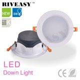 Nuevos productos de 8W Downlight LED de color negro con Ce&RoHS