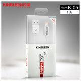 Câble de caractéristiques K-05 modèle de Kingleen 1.2m&#160 ; &#160 ; pour iPhone7