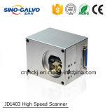 Máquina de marcado láser de alto costo eficiente Jd1403 Laser Galvo Scanner