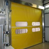 PVC工場(HF-J02)からの内部急速なローラーシャッタードア