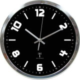 Fábrica de China en negro al por mayor Reloj de pared para regalo promocional