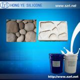 Caoutchouc de silicones liquide pour la fabrication en céramique de moulages
