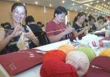 オーダーメイド手によって編まれるスカーフ中国製
