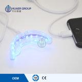 Dientes del uso del hogar del Ce mini que blanquean la luz del azul del acelerador 10 LED