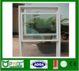 Windows de perfil de alumínio e janelas soltas com vidro duplo