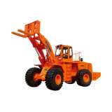 16ton to 40ton Cargador de ruedas de la carretilla elevadora diesel con el motor de Weichai