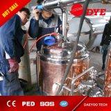 Sistema de fabricação de cerveja artesanal, aquecimento elétrico Equipamento de fabricação de cerveja