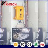 構内放送Knsp-08Lのための自動ダイヤル電話刑務所の電話防水電話