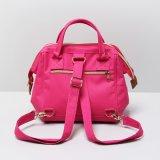 로즈 빨간 화포 귀여운 고양이 패턴 어깨에 매는 가방 (A0114)