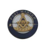 한 벌 접어젖힌 옷깃 핀은, 다른 완료 유효한, 주문을 받아서 만들어진 로고 및 크기이다