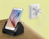 Универсального зарядного устройства док-станция для Samsung Galaxy S6 подставки для настольных ПК