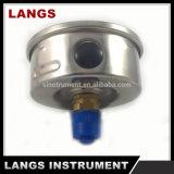 Fábrica 077 calibre de pressão inoxidável do petróleo de 63 produtos de aço do milímetro
