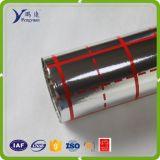 pellicola metallizzata 0.012mm con colore rosso
