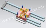 1+1キャビティPOM産業構成のプラスチック注入型