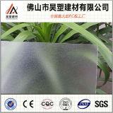 Feuille solide givrée de polycarbonate avec la feuille 100% UV de PC de matériaux de Bayer de Vierge de protection clairement