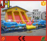 販売のためのカスタマイズされた巨大で膨脹可能な城のスライド