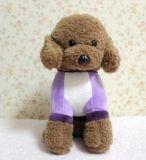 Brinquedo de ursinho de pelúcia com peles de peluagem personalizadas com pano de cutom