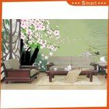 Peinture à l'huile personnalisée par ventes chaudes du modèle 3D de fleur pour la décoration à la maison