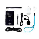 Nio-T600m 0,6 W Transmetteur FM sans fil portable pour l'émission de radio