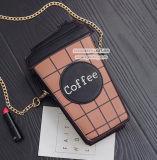 中国Sy8118からのGrilの大きさの買物が付いている方法コーヒーPUのハンドバッグ衝突衝突カラーショルダー・バッグ