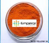 Tinte amarillo de oro ácido del amarillo 36 ácidos para el jabón