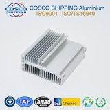 6063-T5 het Profiel van het aluminium voor Heatsink met het Anodiseren & CNC het Machinaal bewerken