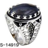 남자를 위한 새로운 디자인 925 순은 보석 반지