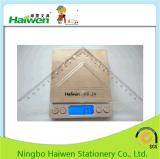 Haiwen 아주 새로운 통치자는 사무실 24cm 삼각형 통치자 2PC PVC 패킹을 놓는다
