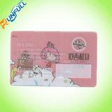 China ha hecho de plástico transparente tarjeta de visita