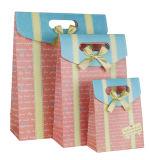 Sac de papier de vente chaud de cadeau de bonbon avec la proue