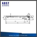 Tirada recta de la asta de la máquina del CNC del sostenedor de herramienta de los cenadores C12-Er08A-150 del CNC