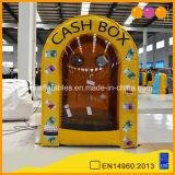 Casella gonfiabile dei contanti del cubo gonfiabile dei contanti della macchina dei soldi (AQ1668-1)