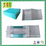 Rectángulo de papel plegable magnético de la cartulina para el embalaje del regalo