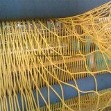 BS-haltbares Standardpolypropylen Raschel knotenloses Netz