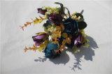 결혼식 꽃다발이 고품질에 의하여 Handmade 실크 인공적인 로즈 꽃이 핀다
