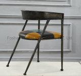 レストランのための卸売の中国の楕円形の背部食事の椅子