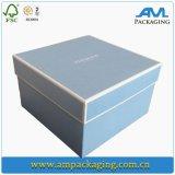 Оптовый шелк карточки приглашений венчания кладет коробку в коробку подарка с крышкой