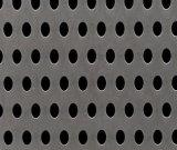 穴があいた金属の網のスピーカーのグリル、穴があいた金網または穴があいた金属