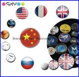 Personalizar el logotipo de la impresión de precio de fábrica el botón Pin insignia