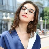 eyeglass Frame New Design 형식 광학 프레임 숙녀 아세테이트 Handmade Eyewear