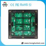 Afficheur LED extérieur de location de HD IP65/IP54 P4 avec le mur visuel