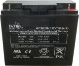 batterie d'UPS de stockage de l'énergie de 6FM18 (12V18AH) Dongjin