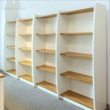 Les livres de bois d'étagère du statif de présentoir (CPY-245)