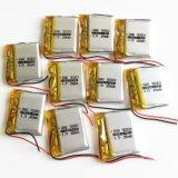 502823 batería del polímero del litio de 3.7V 300mAh para el receptor de cabeza de Bluetooth del E-libro