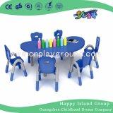 Mobiliário de sala de aula de qualidade mobiliário infantil Kids cadeira de mesa de plástico (HF-05002)